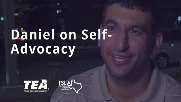 Daniel on Self-Advocacy