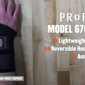 Ergodyne Product Video - ProFlex<sup>®</sup> 675 Ambidextrous Double Strap Wrist Support