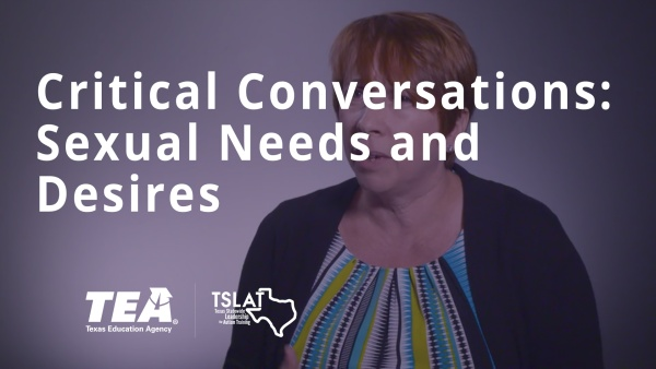 Critical Conversations: Sexual Needs and Desires