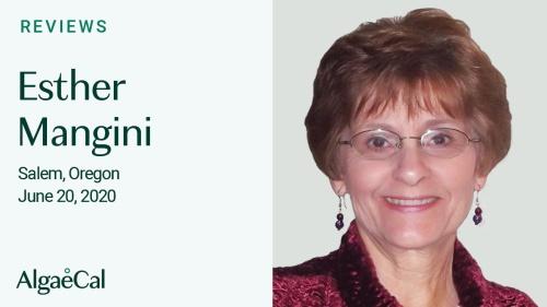 Testimonial thumbnail portrait of Esther Mangini