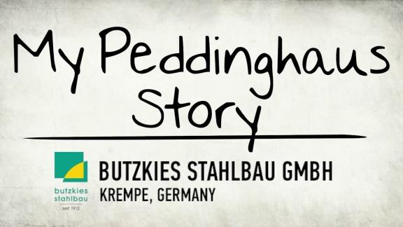 My Peddinghaus Story - BUTZKIES STAHLBAU GMBH - Krempe, Germany