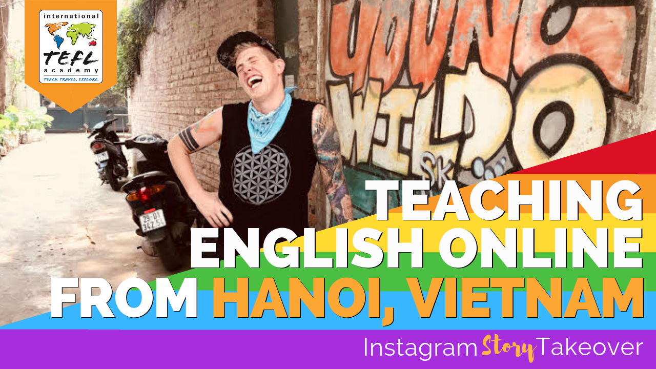 Day in the Life Teaching English Online from Hanoi, Vietnam with Sean Stinson