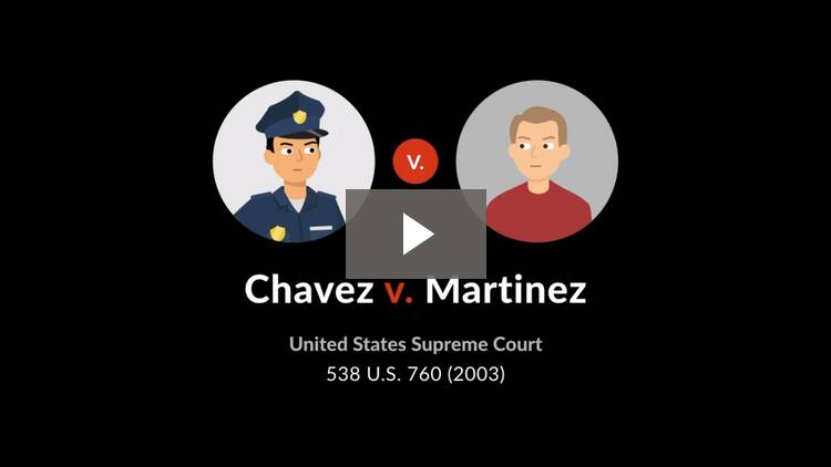 Chavez v. Martinez
