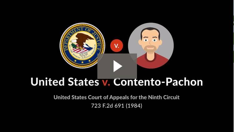 United States v. Contento-Pachon