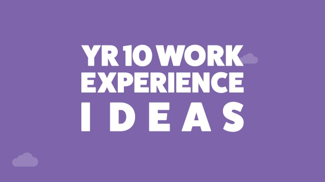 The Top 10 Ideas For Year 10 Work Experience With Examples