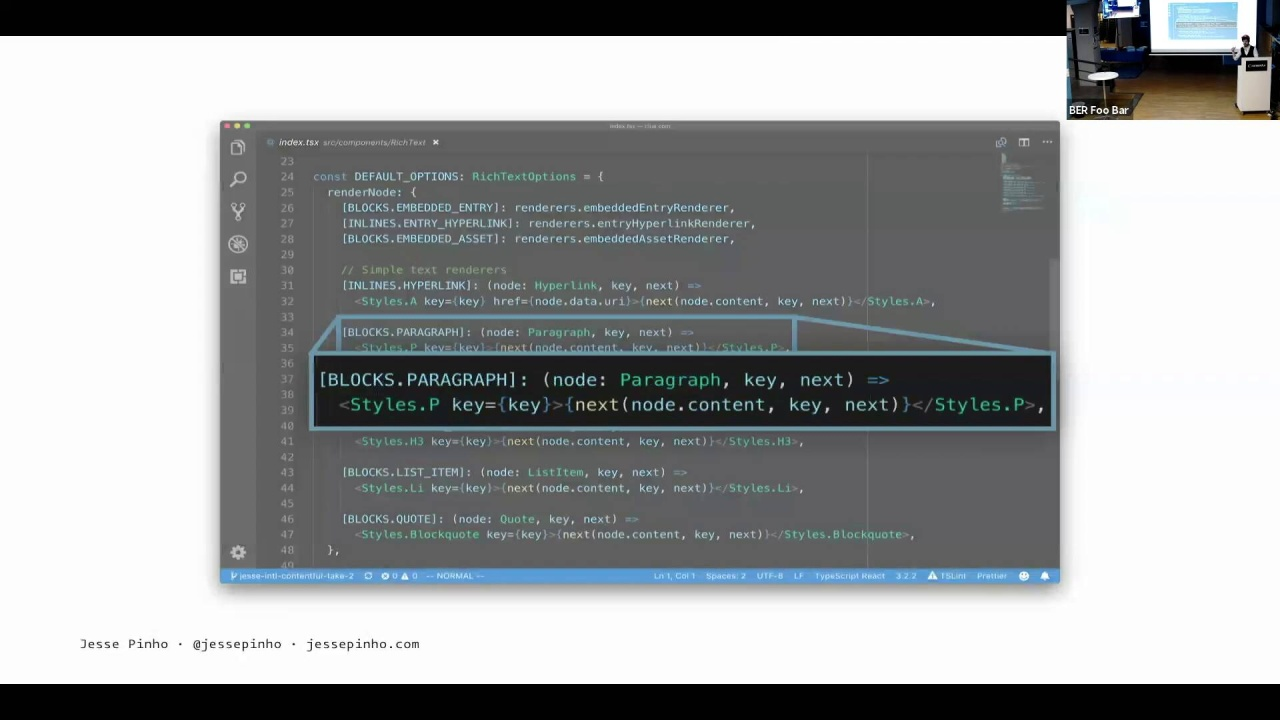 Interactive content with Contentful's Rich Text editor