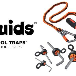 Ergodyne Product Video - Squids<sup>®</sup> 3740 Hand Tool Attachment Trap - Slips<sup>®</sup> (4-Pack)
