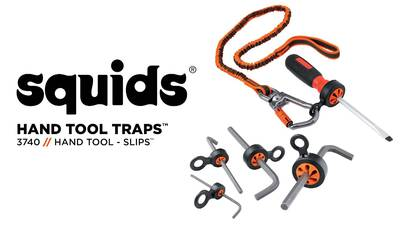 How to Safely Tether Hand Tools and Other Small Tools with Other Small Tools with Squids® Tool Slips