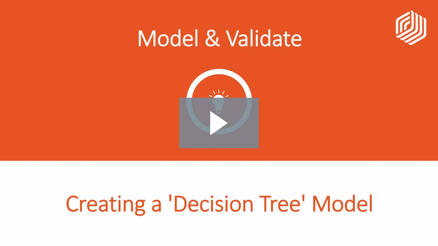 Creating a 'Decision Tree' Model
