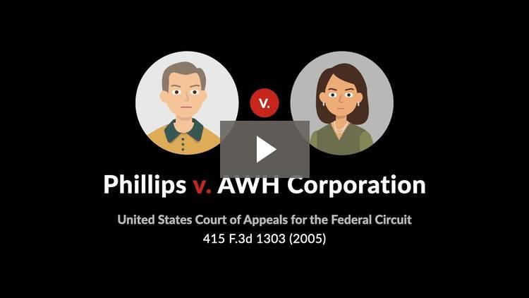 Phillips v. AWH Corporation