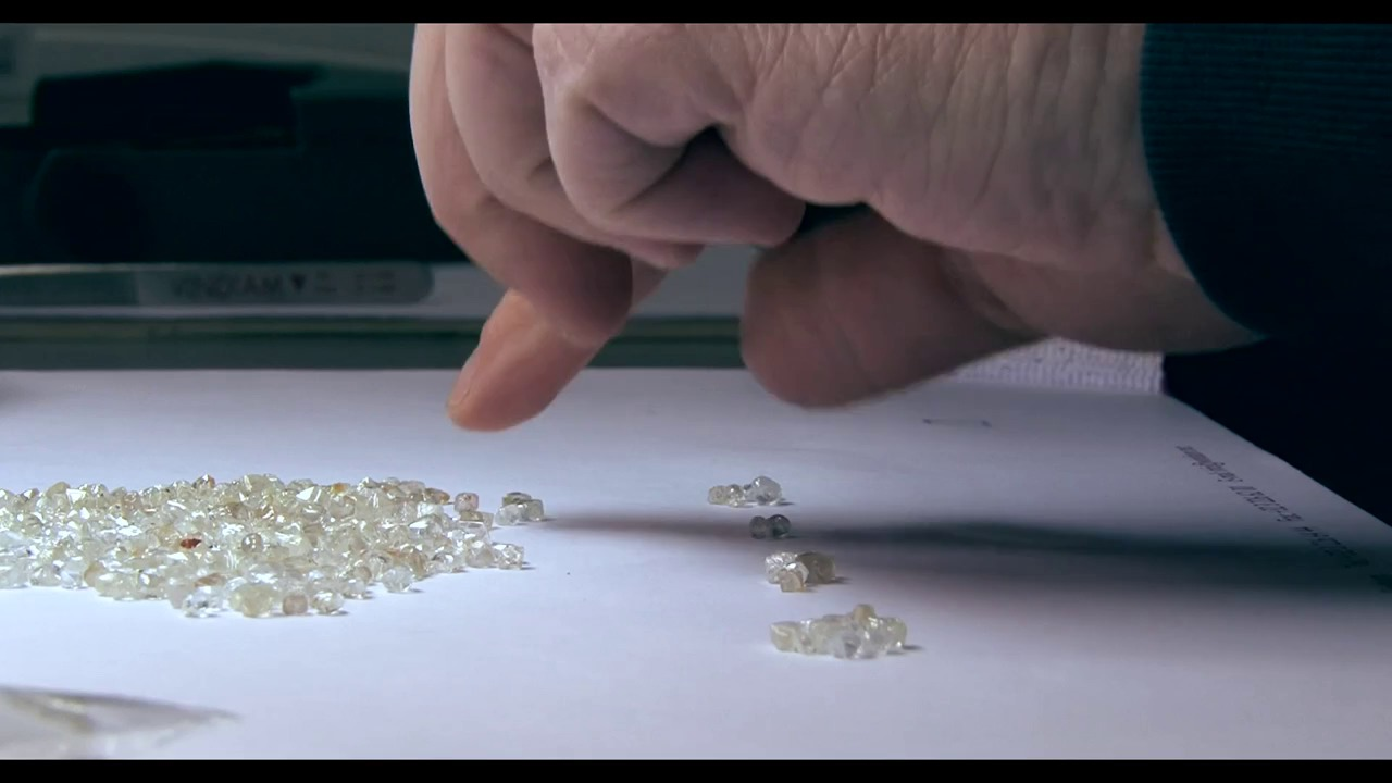 How a rough diamond is transformed into a polished stone
