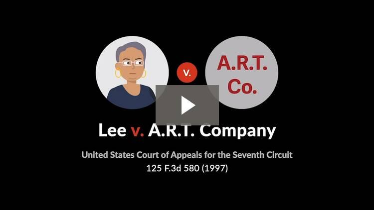 Lee v. A.R.T. Co.