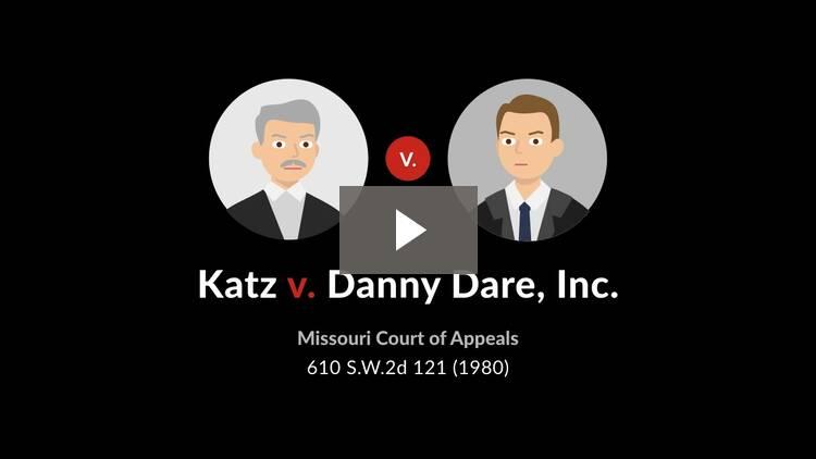 Katz v. Danny Dare, Inc.