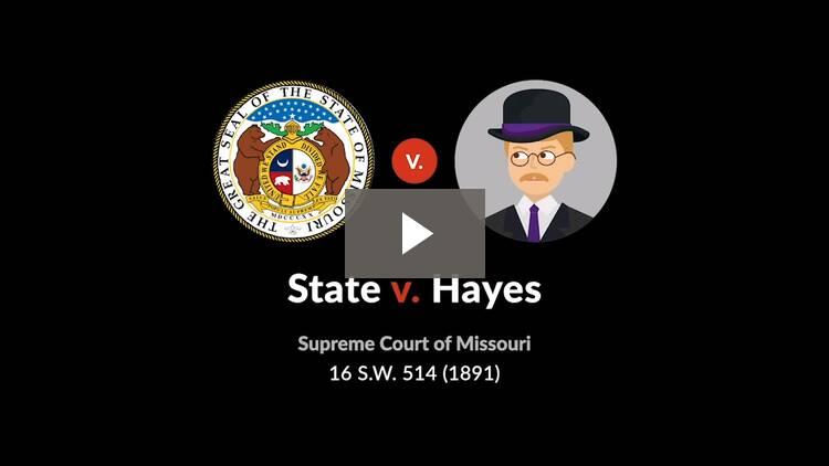 State v. Hayes