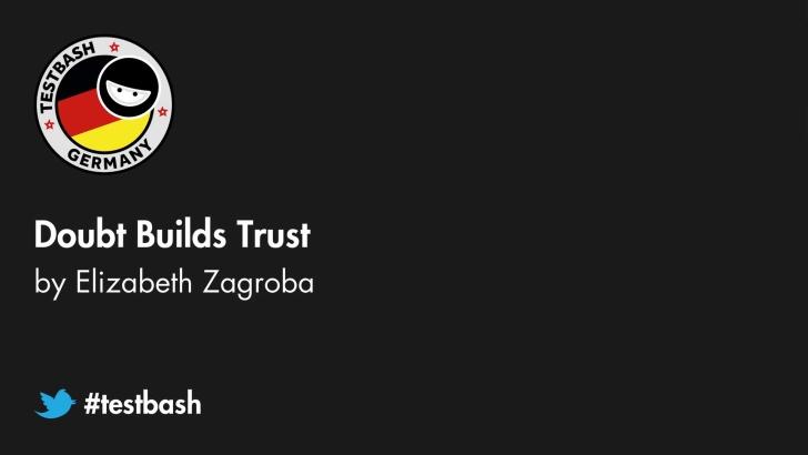 Doubt Builds Trust - Elizabeth Zagroba