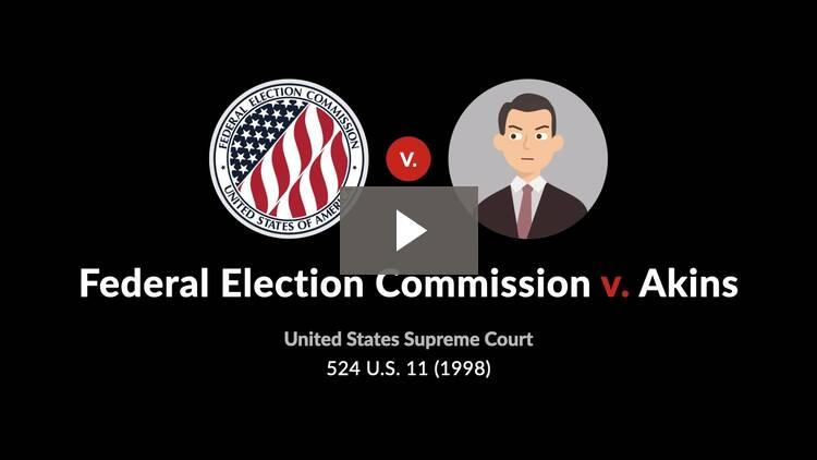 Federal Election Commission v. Akins
