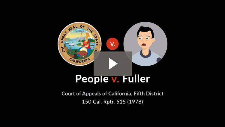 People v. Fuller