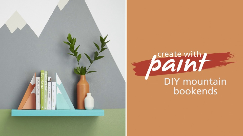 Habitat TV Video: DIY mountain bookends