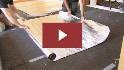 Underfloor Heating System For Floating