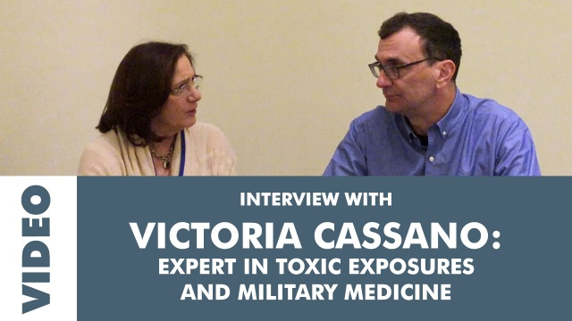 Robert Chisholm Interviews Military Exposure Expert Dr. Victoria Cassano