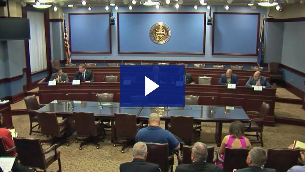 6/18/18 - Joint PIAA Legislative Oversight Committee Public Hearing
