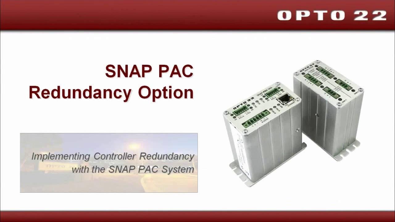 Webinar- Controller Redundancy in PAC Control 9