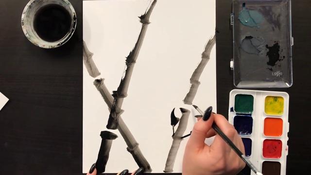 Sumi-E Paintings