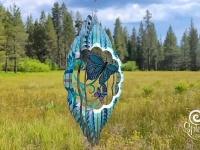 Video: Spinfinity Designs | Colorful Metal Mandala Wind Spinner