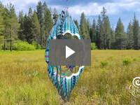 Video for Colorful Metal Mandala Wind Spinner