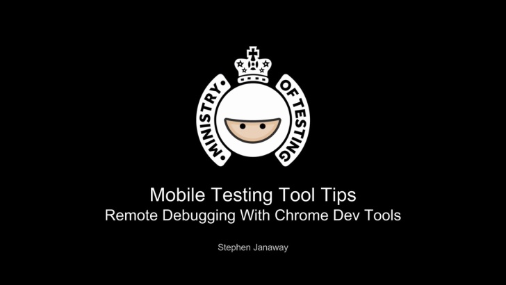 Remote Debugging using Chrome Developer Tools