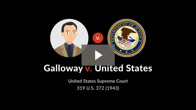 Galloway v. United States