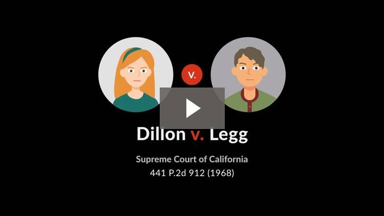 Dillon v. Legg