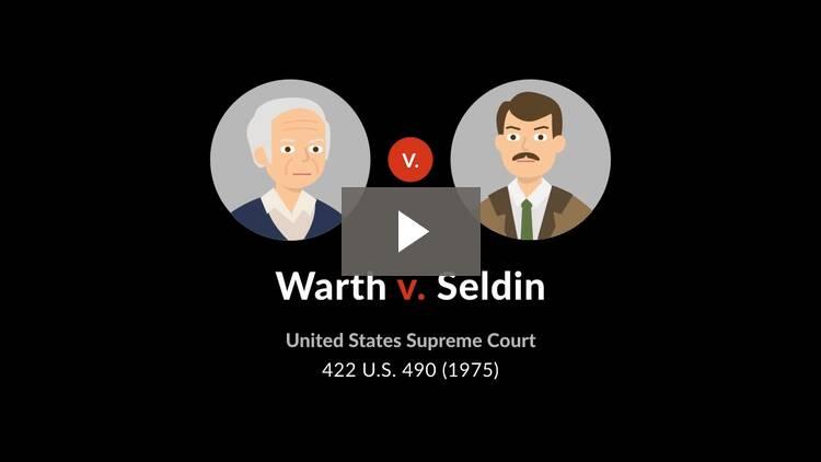 Warth v. Seldin