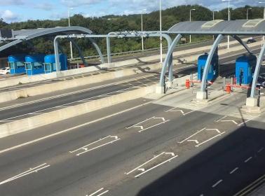 Multi-Lane Free Flow system on Humber Bridge