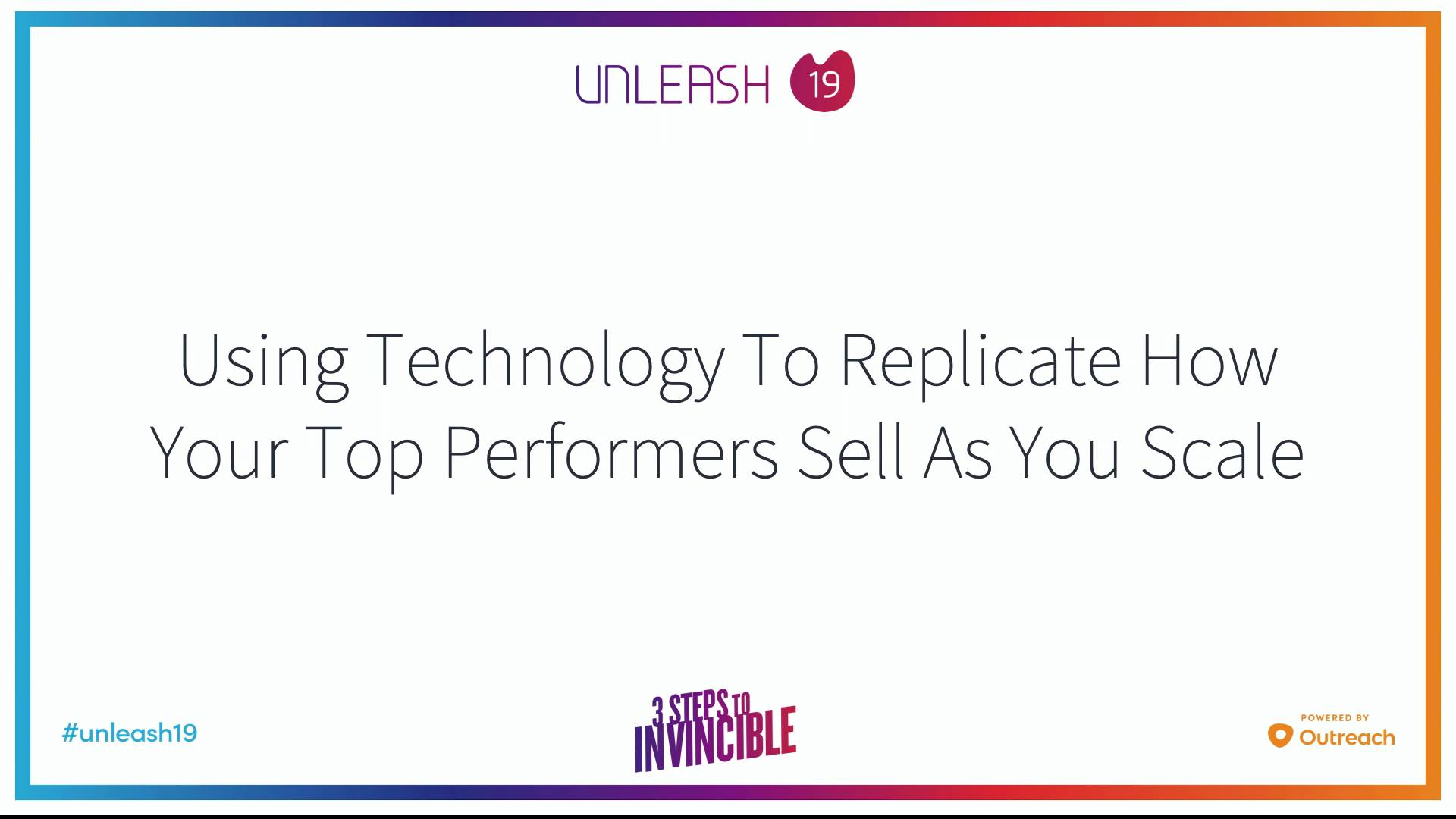 Using Technology to Replicate How Your Top Performers Sell as you Scale - Scott Barker, Roy Raanani, Jake Reni, Nicollette Mullenix
