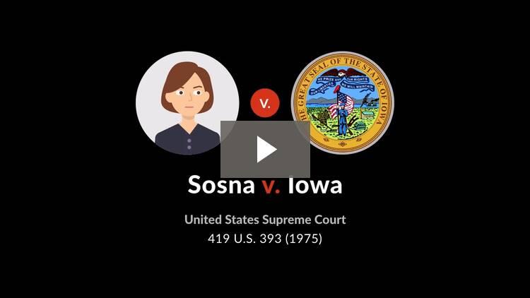 Sosna v. Iowa