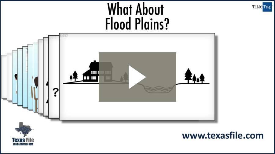 What About Flood Plains?