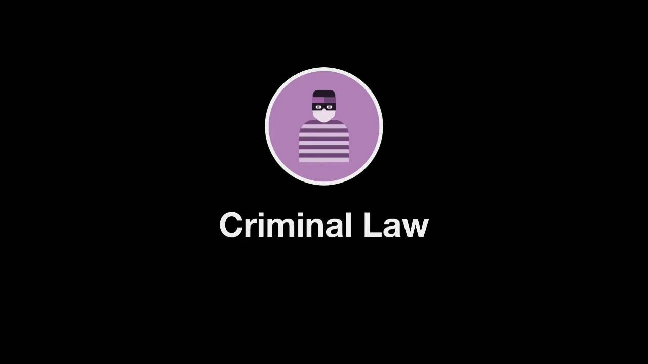 Welcome to Criminal Law thumbnail