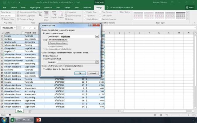 Cara Membuat Menggunakan Tabel Di Microsoft Excel Layaknya Seorang Profesional