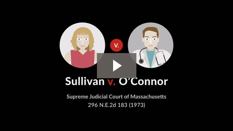 Sullivan v. O'Connor