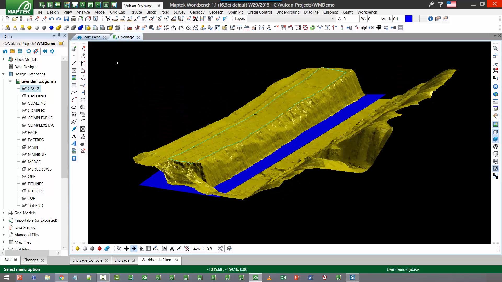 Maptek vulcan merge rows for drill and blast - Eureka soluciones ...