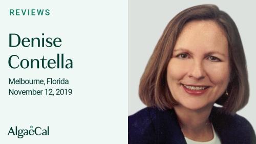Testimonial thumbnail portrait of Denise Contella