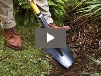 Video for Ergonomic Pointed Garden Spade