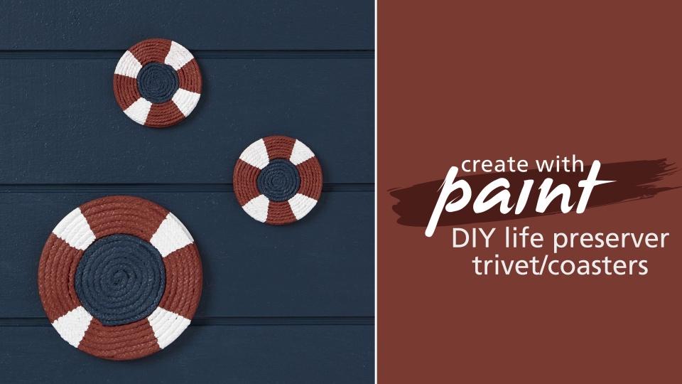 Habitat TV Video: DIY life preserver trivet