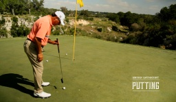 Putting: Correct Ball Position