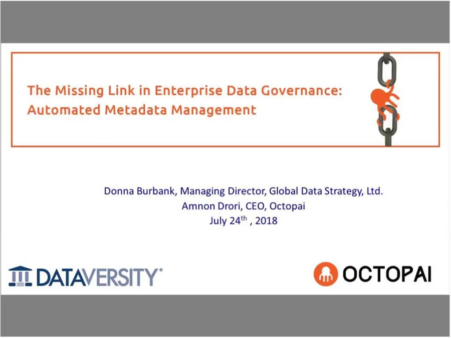 The Missing Link in Data Governance Automated Metadata Management-20180724 1800-1