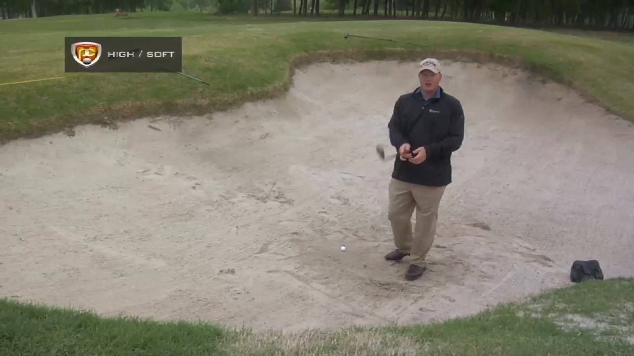 Breaking 90: High/Soft Shots from Bunker