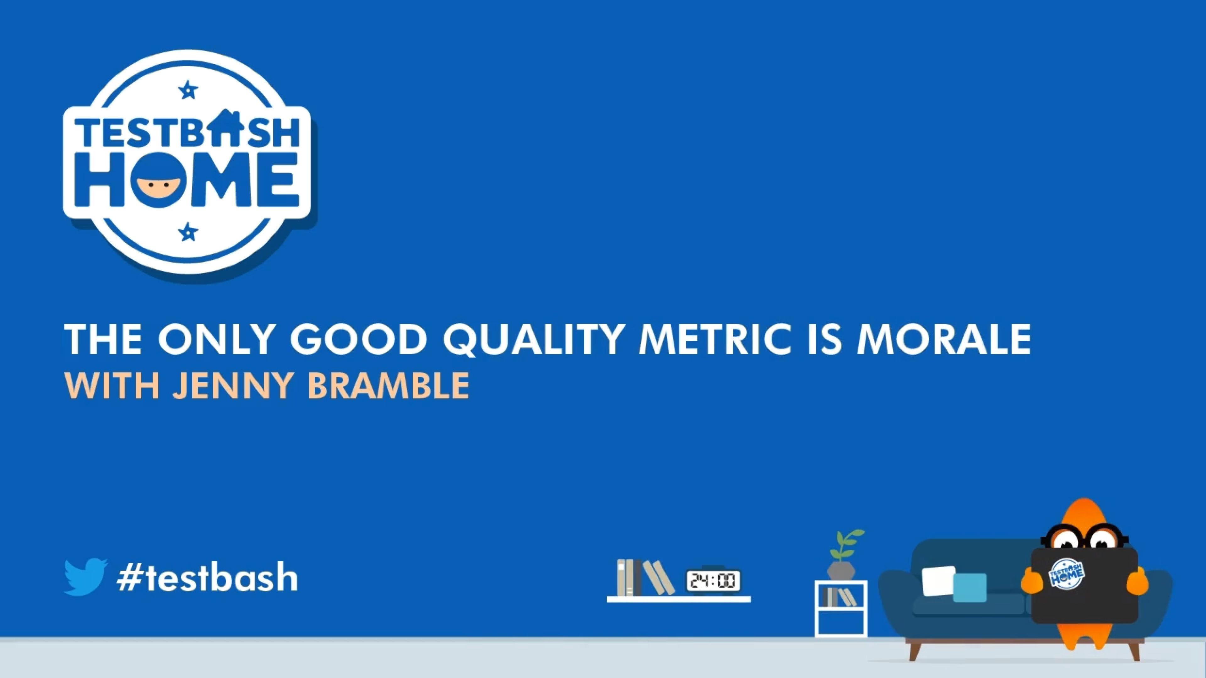 The Only Good Quality Metric is Morale - Jenny Bramble