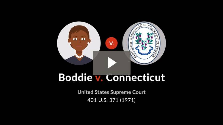 Boddie v. Connecticut