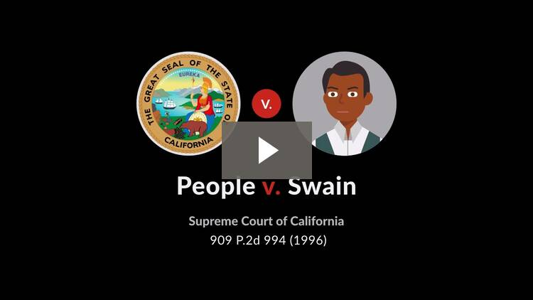 People v. Swain